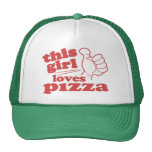 This Girl Loves Pizza Hats