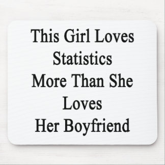 This Girl Loves Statistics More Than She Loves Her Mouse Pads