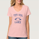 This Girl Loves the Lake T-shirts