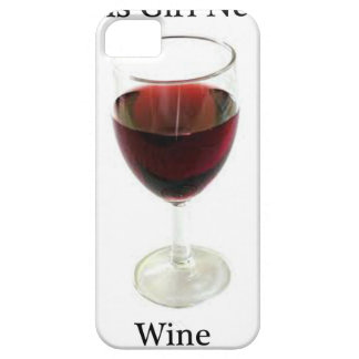 This girl needs wine iPhone 5 cover