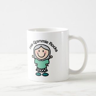 This Grammie Rocks Gift Idea Basic White Mug