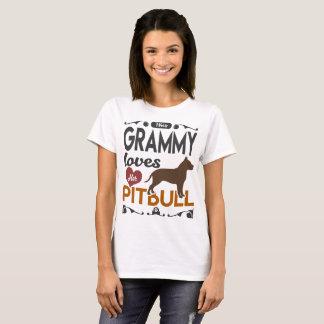 THIS GRAMMY LOVES HER PITBULL T-Shirt