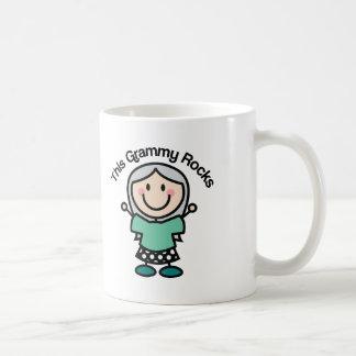 This Grammy Rocks Gift Idea Basic White Mug