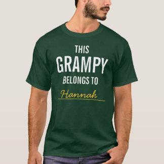 This Grampy Belongs To ........ T-Shirt
