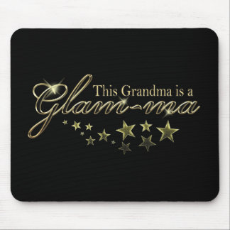This Grandma is a Glam-ma Mouse Pad