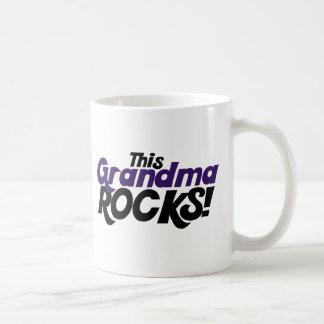This Grandma Rocks Basic White Mug