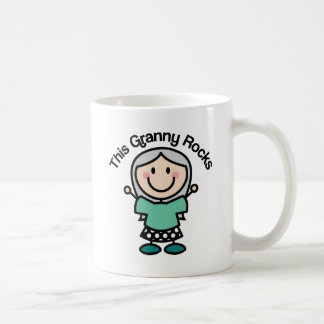 This Granny Rocks Gift Idea Coffee Mug