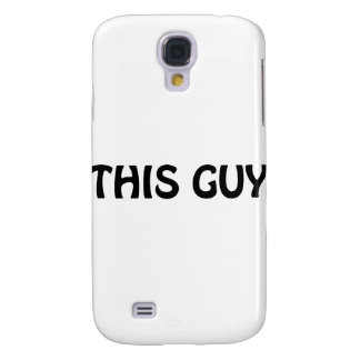 This Guy Samsung Galaxy S4 Cases