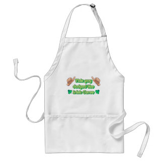 This Guy Dodged the Irish Curse Standard Apron