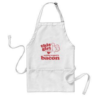 This Guy / Girl Loves Bacon Standard Apron