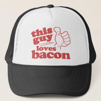 This Guy Loves Bacon Trucker Hat
