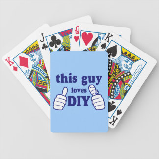 This Guy Loves DIY Bicycle Playing Cards