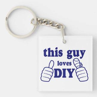 This Guy Loves DIY (personalised) Key Ring