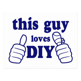 This Guy Loves DIY Postcard