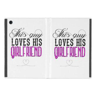 This guy loves his girlfriend iPad mini case