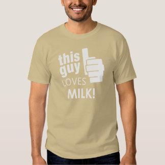 This Guy Loves Milk! T-shirt