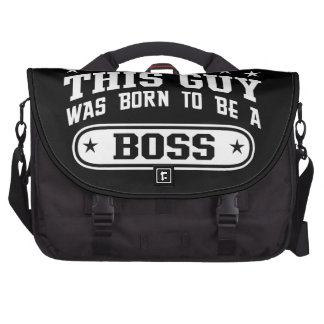 This Guy Was Born To Be A Boss Computer Bag