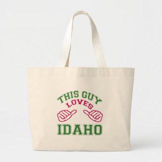 This Guys Loves Idaho Bags