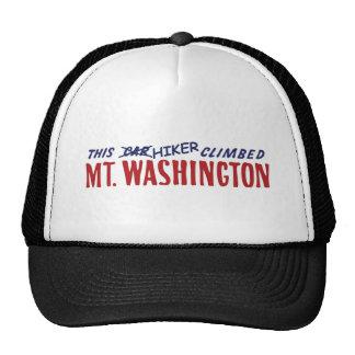 this hiker climbed mt washington shirt or bumper s trucker hat