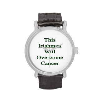 This Irishman Will Overcome Cancer Wristwatch