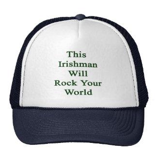 This Irishman Will Rock Your World Mesh Hat