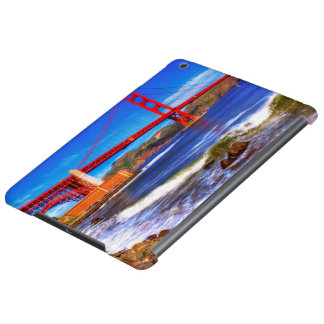 This is a 3 shot HDR image of the Golden Gate Cover For iPad Air