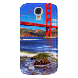 This is a 3 shot HDR image of the Golden Gate Galaxy S4 Case