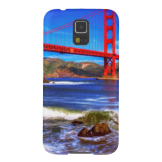 This is a 3 shot HDR image of the Golden Gate Galaxy S5 Covers