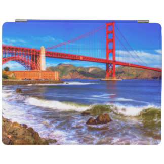 This is a 3 shot HDR image of the Golden Gate iPad Cover