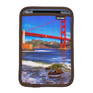 This is a 3 shot HDR image of the Golden Gate iPad Mini Sleeve