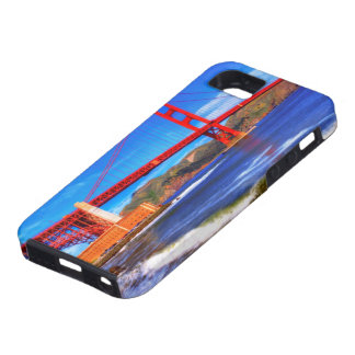 This is a 3 shot HDR image of the Golden Gate iPhone 5 Cases