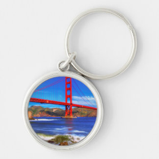 This is a 3 shot HDR image of the Golden Gate Key Ring