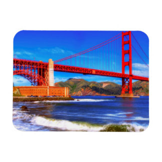 This is a 3 shot HDR image of the Golden Gate Magnet