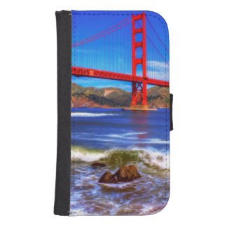 This is a 3 shot HDR image of the Golden Gate Samsung S4 Wallet Case