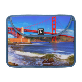 This is a 3 shot HDR image of the Golden Gate Sleeve For MacBook Pro