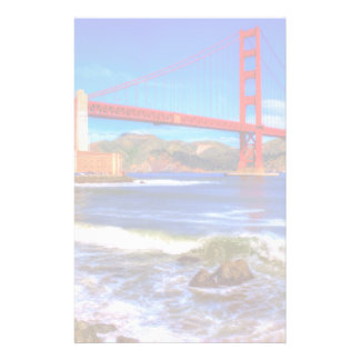 This is a 3 shot HDR image of the Golden Gate Stationery