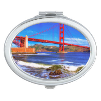 This is a 3 shot HDR image of the Golden Gate Vanity Mirror