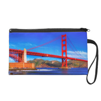 This is a 3 shot HDR image of the Golden Gate Wristlet