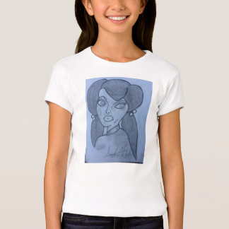 this is a beautiful design ,cartoon face , T-Shirt