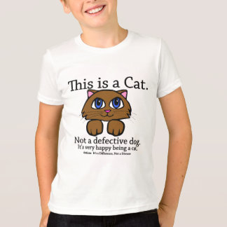 This is a Cat Kids' Shirts