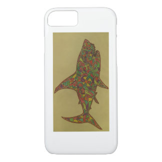 This is a Hand Drawn Piece, its a Shark. iPhone 7 Case