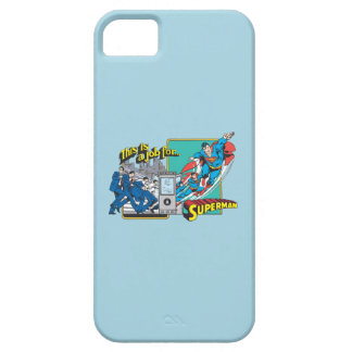 This is a job for Superman 2 Barely There iPhone 5 Case