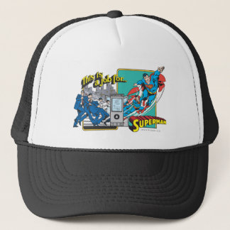 This is a job for�Superman 2 Trucker Hat