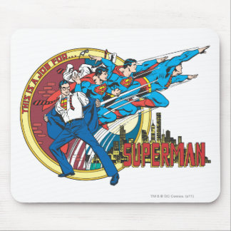 This is a job for�Superman Mouse Mat