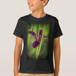 This is a Louisiana Gamecock Wildflower - Iris hex T Shirt