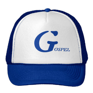 This is a nice blue and white Hat. Cap