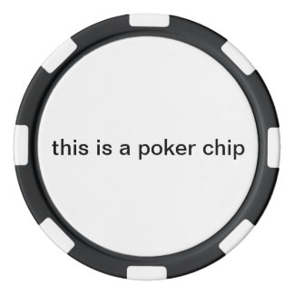 """this is a poker chip"" poker chip"