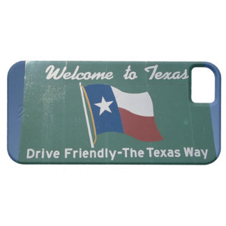 'This is a road sign that says, Welcome to Barely There iPhone 5 Case