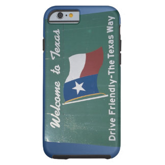 'This is a road sign that says, Welcome to Tough iPhone 6 Case