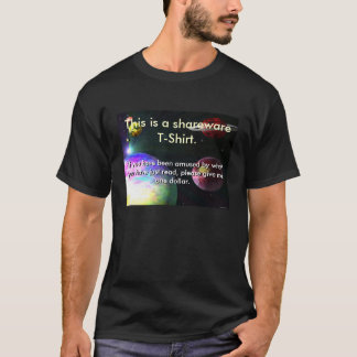 This is a Shareware T-Shirt